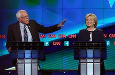 The Bwst GIFS from the 1st debate  Hillary Clinton and Bernie Sanders Debate Quotes 2015   POPSUGAR News