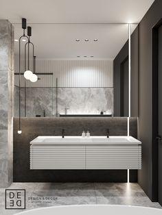 DE&DE/Eclecticism in the heart of Saint-Petersburg on Behance Modern Home Interior Design, Bathroom Design Luxury, Luxury Homes Interior, Bathroom Design Small, Luxury Home Decor, Interior Design Studio, Modern Bathroom, Studio Design, Modern Classic Interior