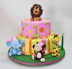 Jungle Cake by Violeta Glace