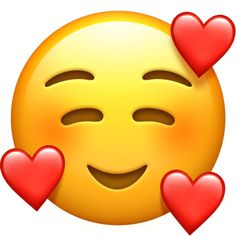 Complete information about 🥰 Smiling Face With Hearts Emoji - meaning & usage, copy & paste, appearance on various devices, name in other languages & developer codes Heart Face Emoji, Love Heart Emoji, Emoji Love, Smiley Emoji, Emoji Wallpaper Iphone, Cute Emoji Wallpaper, Heart Wallpaper, Emoji Images, Emoji Pictures