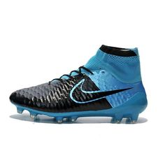 best service 769b0 5d3fb Nike Magista obra FG Black Blue