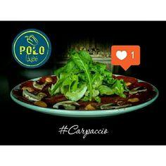 El sabor de nuestro #CarpacciodeLomito es increíble Pruébalo!  Recuerda que abrimos de miércoles a domingo a partir de las 12 pm