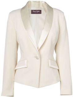 Women's Paula Tuxedo Jacket, Ivory