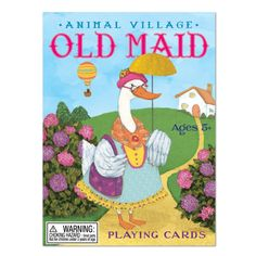 Playing Cards - Animal Old Maid at Evans and Hall