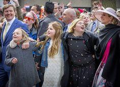 Dutch Royal Family attend King's Day 2016 celebration