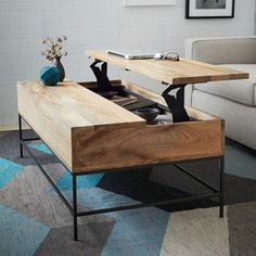 table basse design original pour un salon moderne