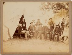 Comanche Chief Quanah Parker in council with military aide Frank Baldwin and other Native leaders. American War, Native American Indians, Native Indian, Comanche Warrior, Navajo, Comanche Indians, Quanah Parker, Texas History, My Heritage