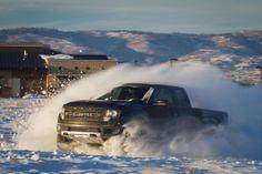 Ford Raptor - Ken Block enjoying his winter holiday at home
