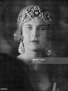 Princess Marie-José of Belgium (1906-2001), queen of Italy, 1920-1939. Princess Marie José was the last queen of Italy. Her thirty-five day reign as queen consort earned her the affectionate nickname the May Queen. From La Liberté, celebrating the occasion of the visit of the king and queen of Italy to Egypt, c1920-1939.