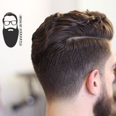 cool Side part hairstyles for men are the classic of classic men's hairstyles and haircuts. Simply comb a part into damp hair and work hair into place. You can use a blow dryer or air dry, CONTINUE READING Shared by: saulofamerica Damp Hair Styles, Hair And Beard Styles, Medium Hair Styles, Curly Hair Styles, Side Part Hairstyles, Undercut Hairstyles, Men Undercut, Classic Mens Hairstyles, Trendy Hairstyles