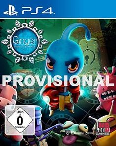 Ginger: Beyond the Crystal (PS4)