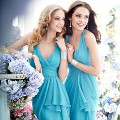 {Jim Jhelm Bridesmaids Collection} Be prepared to be totally smitten with trendy colors and flirty looks.