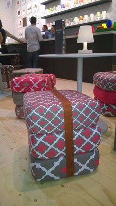 Fresh new patterns for our Baboesjka! Fatboy's Relationship Café at Maison et Objet September 2014