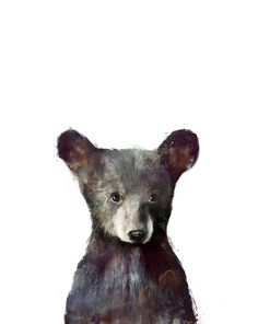 Buy Little Bear Art Print by Amy Hamilton. Worldwide shipping available at Society6.com. Just one of millions of high quality products available.