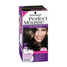perfect mousse de schwarzkopf monvanityideal coloration permanente enmousse beaute 17teintes - Coloration Schwarzkopf