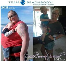 My favorite #beachbody #transformation of all time! This girl is amazing & proves that it is possible to reach your goals! Want the same results? Let me help! :)