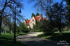 It's a beautiful day at Trail End! This is your view as you approach the mansion.