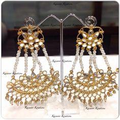 Jhumar style earrings  Enquiries : 00447448472033 (watsapp/Viber) Email : Kainoork@gmail.com