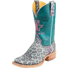 Women's Tin Haul Electric Kitty Cowboy Boots Item # 14-021-0007-1207