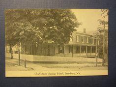 http://www.ebay.com/itm/Old-Vintage-c-1910s-STRASBURG-VA-POSTCARD-Chalyebrate-Springs-HOTEL/372015885773