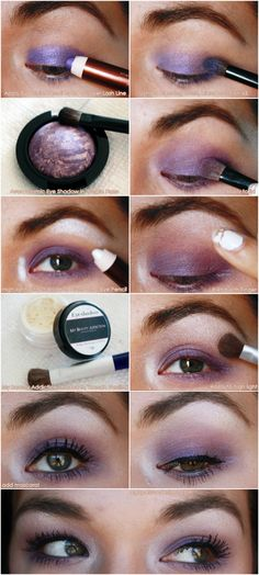Agape Love Designs: Avon Cosmic Eye Shadow EOTD Pictorial #avon #tutorial #makeup #beauty #purple #greeneyes #eyeshadow #pictorial