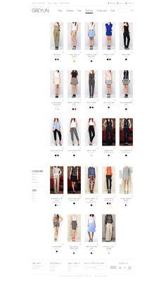 Greylin Collection - Shop Page - eCommerce website by professional web design… Media Design, Ux Design, Web Design Examples, Ecommerce Web Design, Professional Web Design, Web Design Company, Business Marketing, Design Inspiration, Website