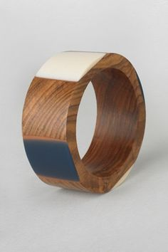 Resin Wood Bangle - Sale - French Connection