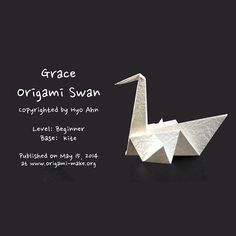 Introducing an Grace Origami Swan