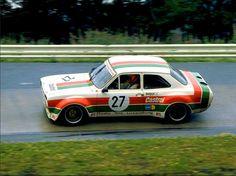Klaus Ludwig & Hans Heyer (Ford Escort Rs 1600) vainqueur des 6 Heures du Nürburgring 1974 - Carros e Pilotos