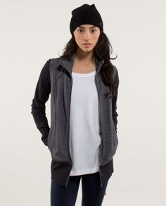 nice asana jacket *herringbone | women's jackets and hoodies | lululemon athletica