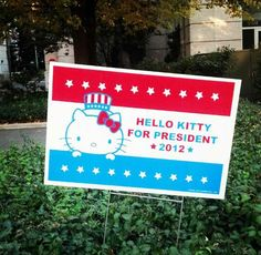 hello kitty president = I love, love this blog!  I pity the guy, but there's soo much cool stuff on here!