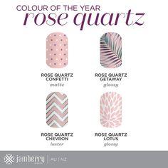 Such a beautiful colour!!! Love the rose quartz getaway one!