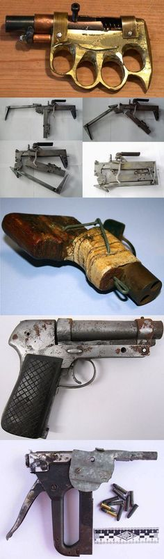 Homemade weapons