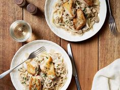 Get Chicken with Mustard Mascarpone Marsala Sauce Recipe from Food Network