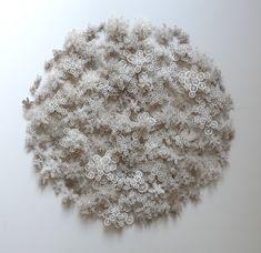 artruby:  Paper sculptures by Rogan Brown.