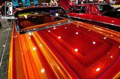 custom paint jobs, metal flake paint, custom lowriders, Grand National Roadster Show