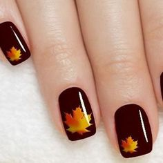 Fall is that time of year where the weather cools down and all the troubles of thee hot summer go away. This is why today we found the best fall nail art. We have found 37 of the best fall nail art designs of all time. Fall Nail Art Designs, Nail Polish Designs, Nail Polish Colors, Fall Designs, Nail Art Halloween, Holiday Nail Art, Nail Art For Fall, Autumn Nails, Winter Nails