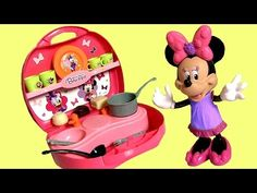 Fisher-Price Daisy Duck and Minnie Mouse's Convertible Snap On Dresses Party - YouTube