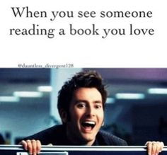 My reaction when I see a person reading PJO