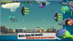 Flight Fight 2 on App Store:   Flight Fight II allows you to challenge more stages defeat more enemies and select from more weapons and characters. Now enjoy the fun of this distinct flight shooter! -More than 90 stages. Challenge each one in Normal Hard and Nightmare modes. -3 available characters. Each character...  Developer: Xing Xing  Download at http://ift.tt/1u3zeb2