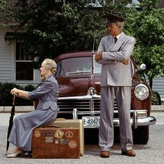 Driving Miss Daisy: Jessica Tandy and Morgan Freeman as Miss Daisy and