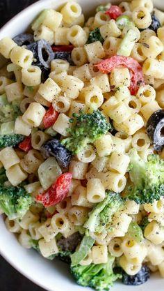 Summer Pasta Salad on Pinterest