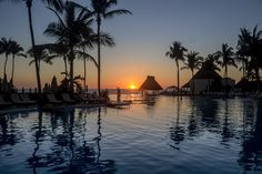Golden Coast, All Inclusive Resorts, Puerto Vallarta, Mexico, Vacation, Sunset, World, Outdoor, Sunsets