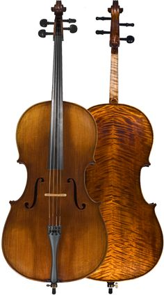 gorgeous German cello <3 Holy cupcakes! I know some people who would love to play that.
