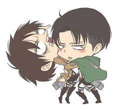 Eren and Levi SnK
