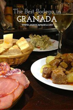 La Bodega de Vinny: Authentic Tapas in Granada - Jadescapades