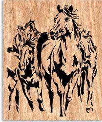 Pacing The Prairie Project Pattern – Holzarbeiten Wood Burning Stencils, Wood Burning Crafts, Wood Burning Patterns, Wood Burning Art, Wood Crafts, Scroll Saw Patterns Free, Scroll Pattern, Pattern Art, Deer Stencil