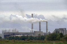 Sustaianble pattern of consumption and production | Factory smokestacks. Estonia, Nomme, Harju county Estonia 2007. Photo ...