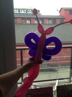 Butterfly Balloon Twisting Tutorial
