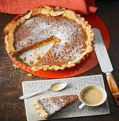 Pumpkin-Pie - amerikanischer Kürbiskuchen